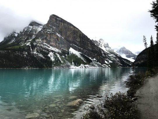 HERE'S HOW WE ENJOYED THE BAD WEATHER IN BANFF NATIONAL PARK