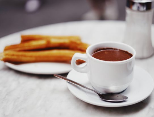 COLD WEATHER MEANS CHURROS CON CHOCOLATE IN BARCELONA
